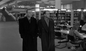 Angels like to hang out in the library in the film Wings of Desire.
