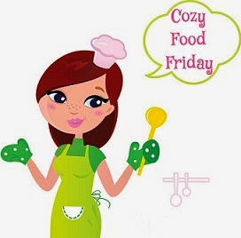 cozy food friday graphic