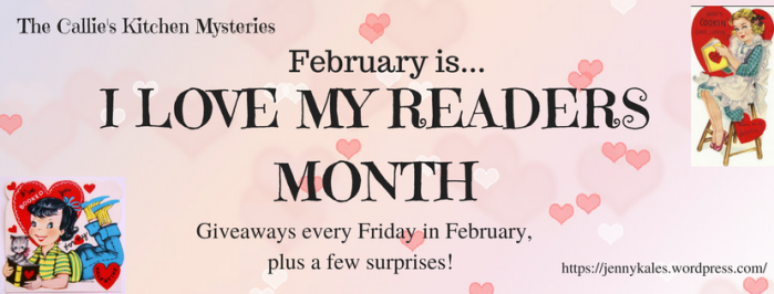 I LOVE MY READERS MONTH design two