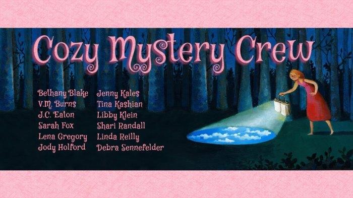 cozy mystery crew banner