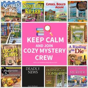 cozy mystery crew collage